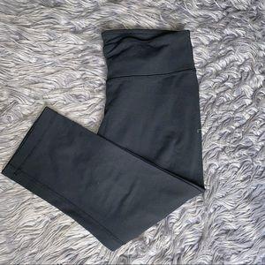 Lululemon Crop Black Leggings Size 8